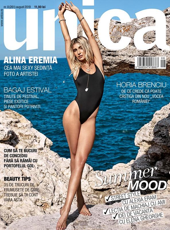 UNICA ~~ Coperta: Alina Eremia ~~ August 2019