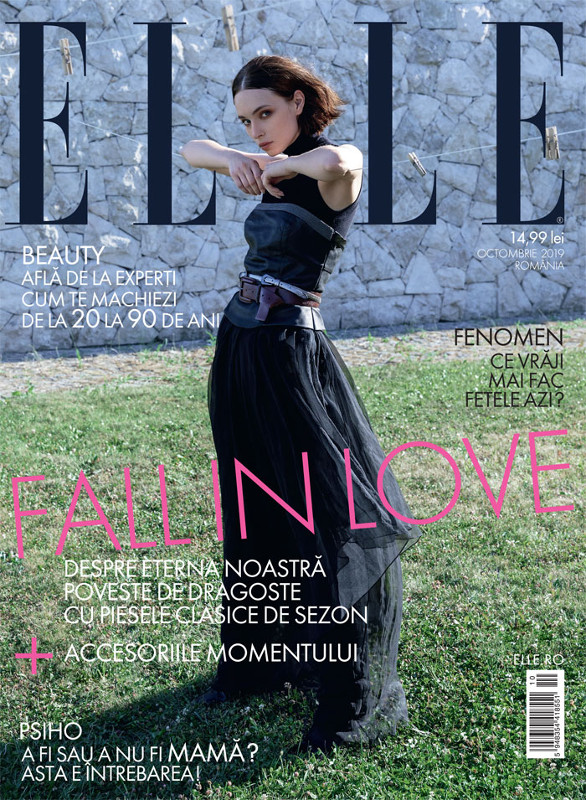 ELLE Magazine Romania ~~ FALL IN LOVE ~~ Octombrie 2019