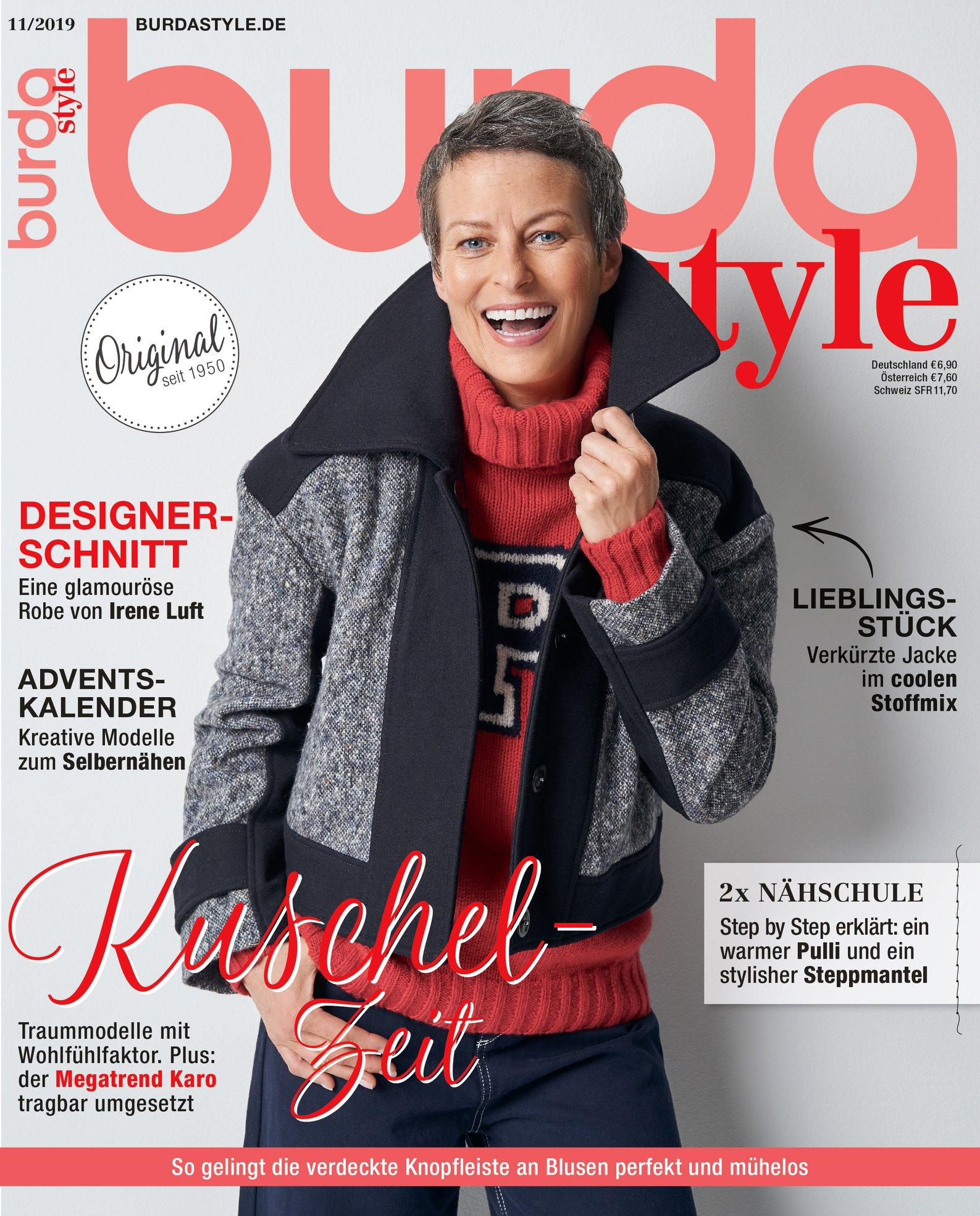 Burda Style Germania ~~ Noiembrie 2019