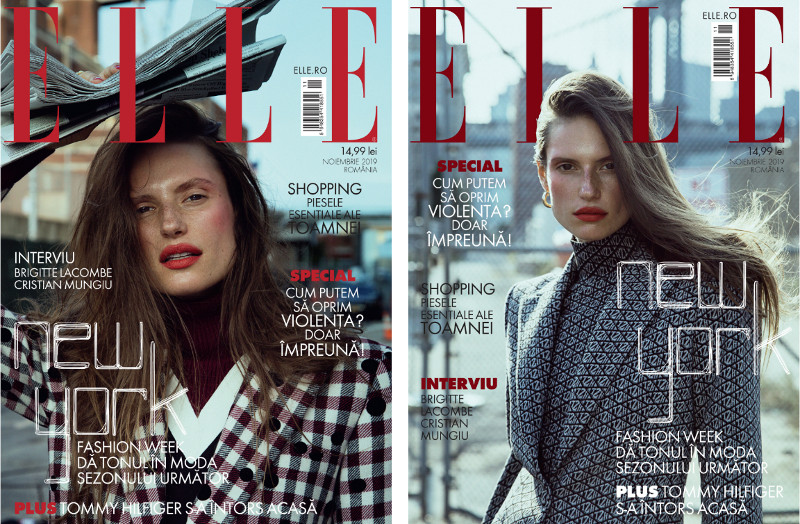 ELLE  Magazine Romania ~~ Cover story: New York Fashion Week ~~ Noiembrie 2019