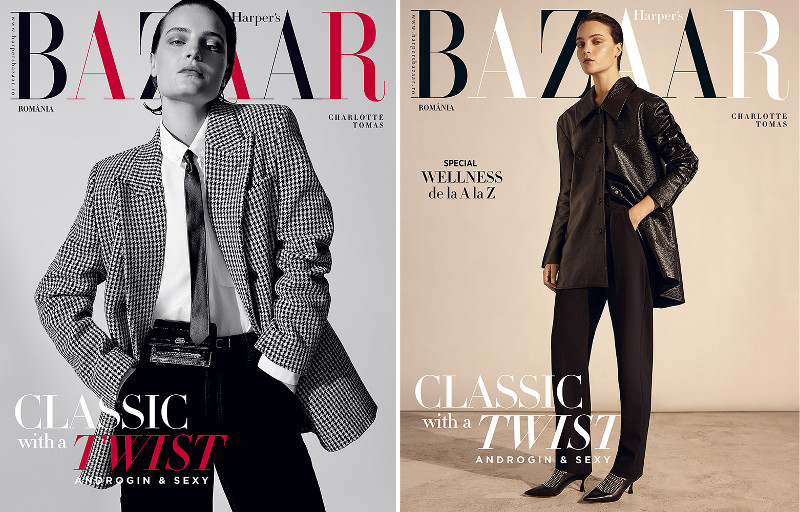 Harpers Bazaar Magazine Romania ~~ Classic with a Twist ~~ Noiembrie 2019