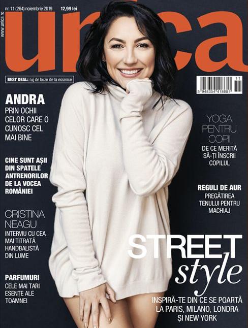 UNICA ~~ Coperta: Andra ~~ Noiembrie 2019