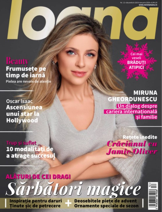 Revista IOANA ~~ Sarbatori Magice ~~ Decembrie 2019 - Ianuarie 2020