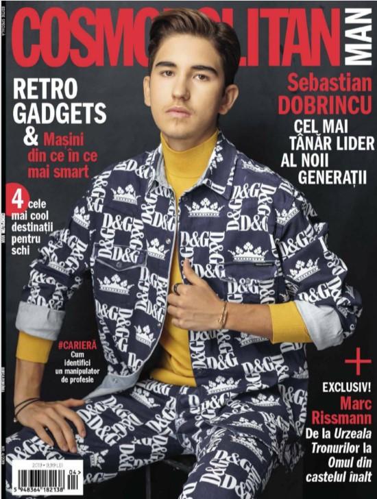 Cosmopolitan MAN Romania ~~ Coperta: Sebastian Dobrincu ~~ Iarna 2019