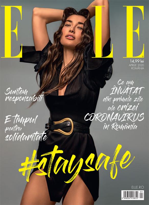 ELLE Magazine Romania ~~ #STAYSAFE ~~ Aprilie 2020