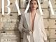 Harpers Bazaar Magazine Romania ~~ Coperta: Lily James ~~ Februarie 2021