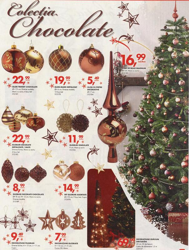 Brad de Craciun impodobit ~~ Colectia Chocolate de la Bricostore ~~ 2010