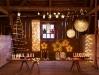 Brad de Craciun impodobit si decor de Craciun cu lumini ~~ idee Ikea 2010