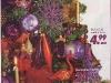 Brad de Craciun impodobit cu ornamente mov ~~ idee propusa de magazinul Kika ~~ Decembrie 2010