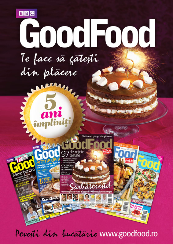 La multi ani, Good Food! ~~ Promo aniversar ~~ Decembrie 2010