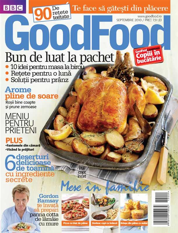 Good Food Romania ~~ Bun de luat la pachet ~~ Septembrie  2010