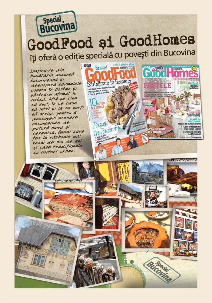 Good Food Romania :: Special Bucovina ::  Aprilie 2009