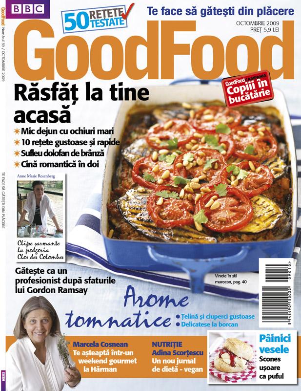 Good Food Romania ~~ Rasfat la tine acasa ~~ Octombrie 2009