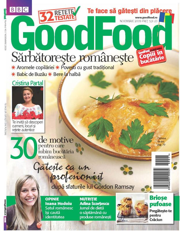 Good Food Romania ~~ Sarbatoreste Romaneste ~~ Noiembrie 2009