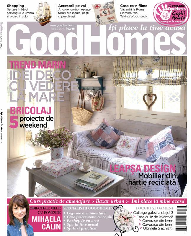 Good Homes ~~ Trend Marin ~~ Iunie 2010