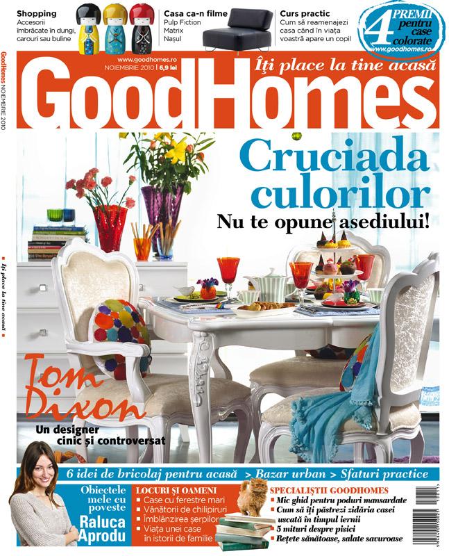 Good Homes Romania ~~ Cruciada culorilor ~~ Noiembrie 2010