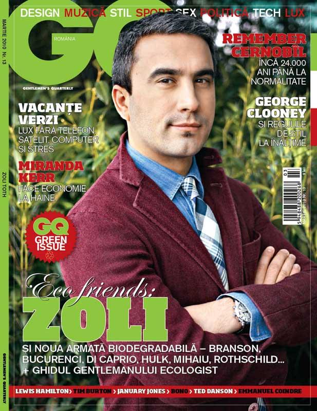 GQ Romania ~~ Zoli ~~ Green Isue ~~ Martie 2010