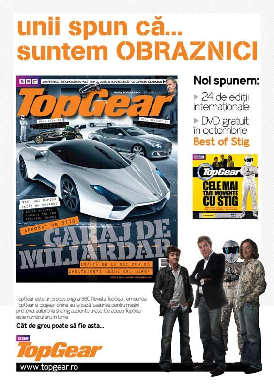 Top Gear ~~ Octombrie 2010