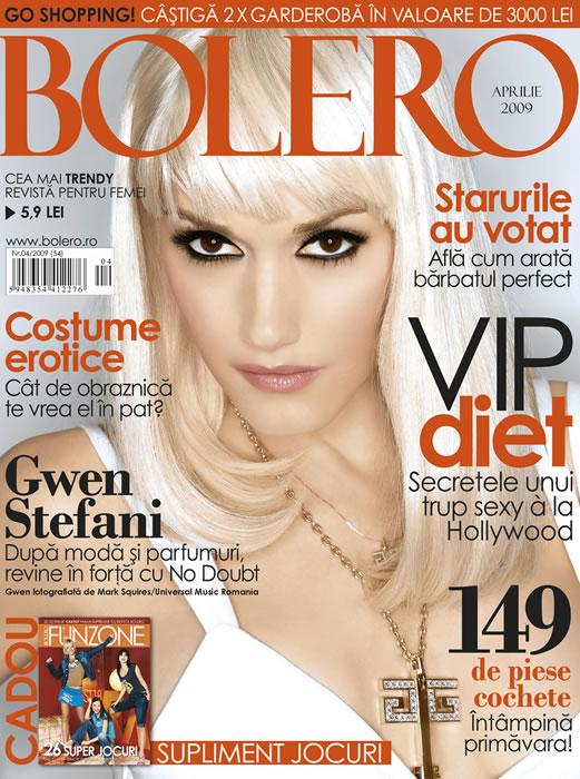 Bolero Romania :: Gwen Stefani :: Aprilie 2009