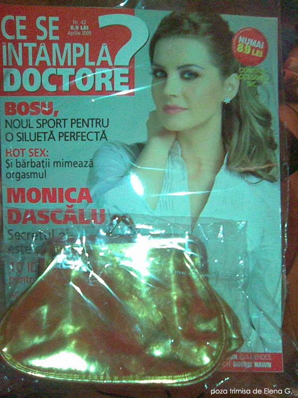 Ce se intampla, Doctore? :: Monica Dascalu :: Accesoriu sic :: Aprilie 2009