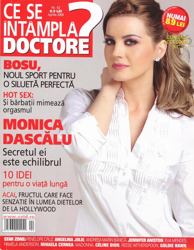 Ce se intampla, Doctore? :: Monica Dascalu :: Aprilie 2009