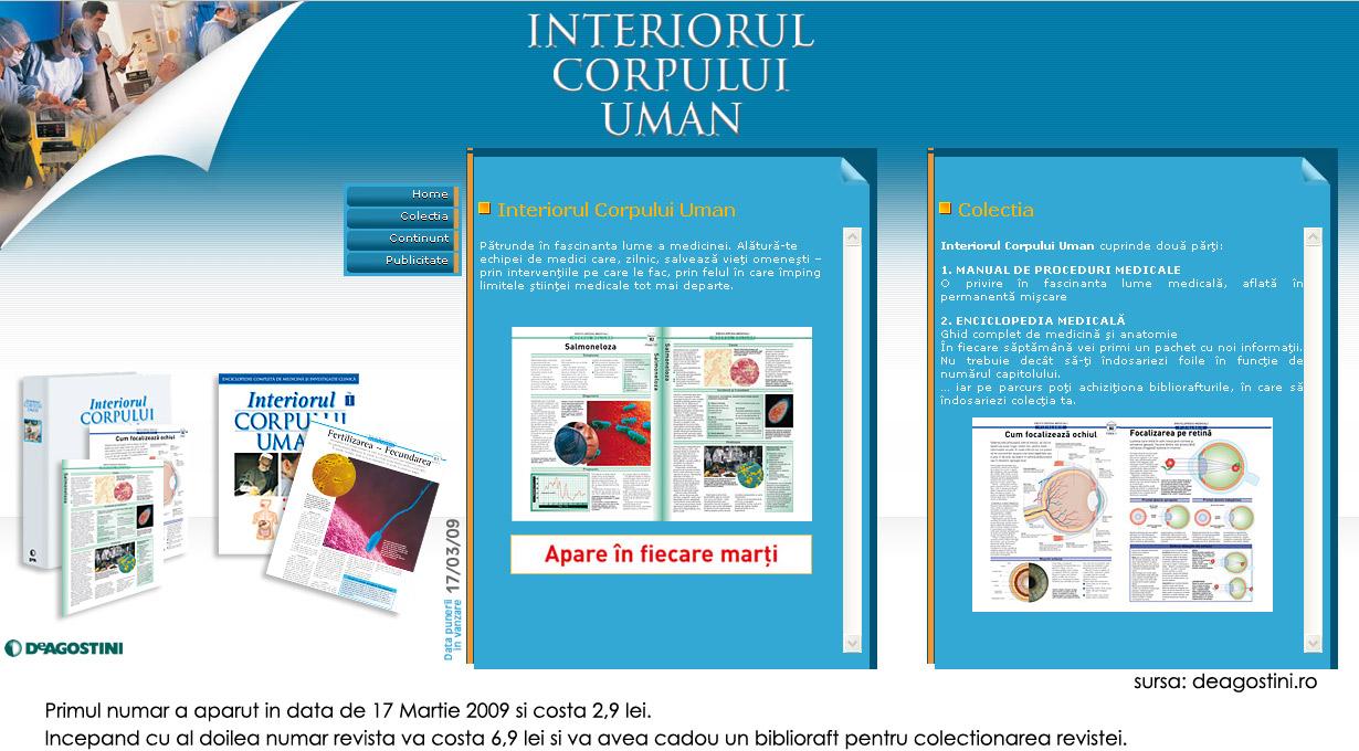 DeAgostini :: Interiorul Corpului Uman