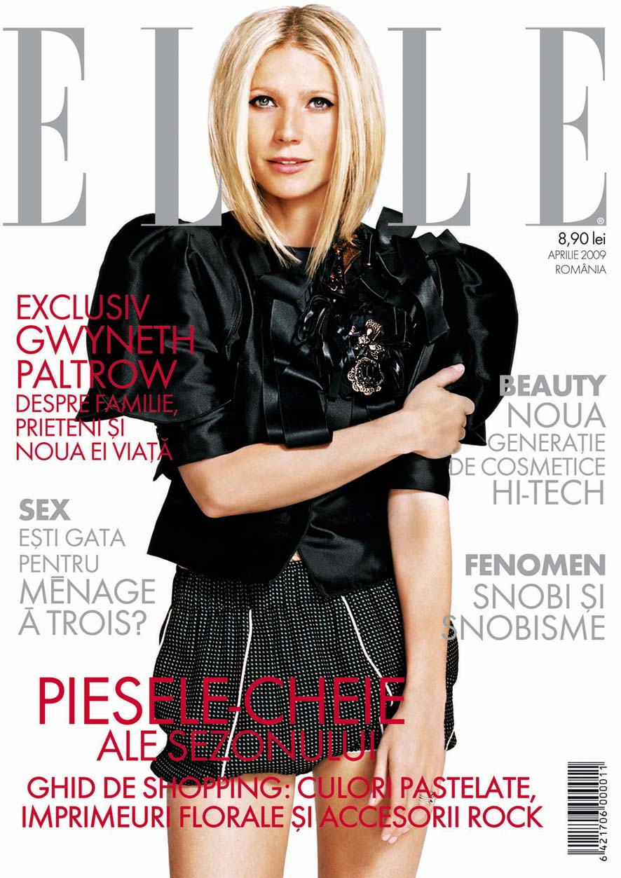Elle Romania :: Gwyneth Paltrow :: Aprilie 2009