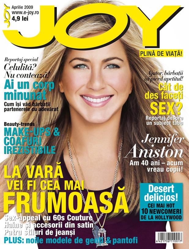Joy Romania :: Jennifer Aniston :: Aprilie 2009