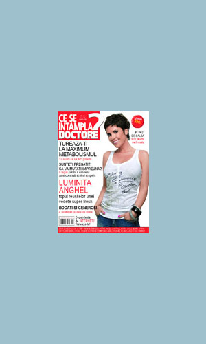 Coperta revistei Ce se intampla doctore?, August 2008
