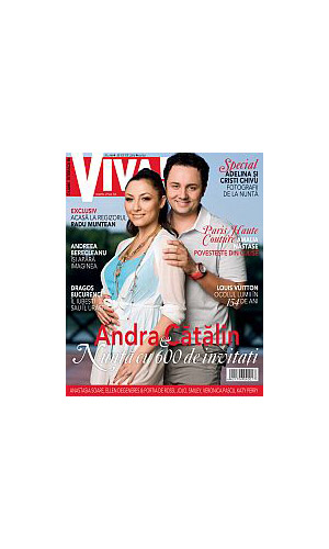 Coperta revista Viva!, August 2008