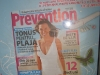 Promo revista Prevention, August 2008