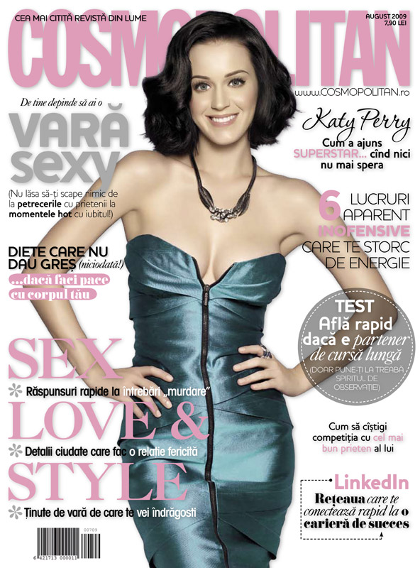 Cosmopolitan Romania :: Katy Perry :: August 2009