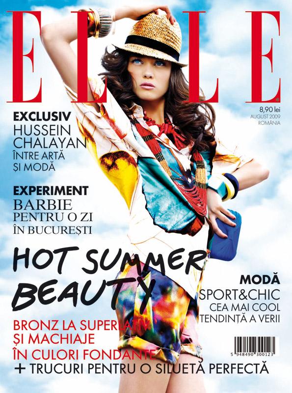 Elle Romania :: Hot Summer Beauty :: August 2009