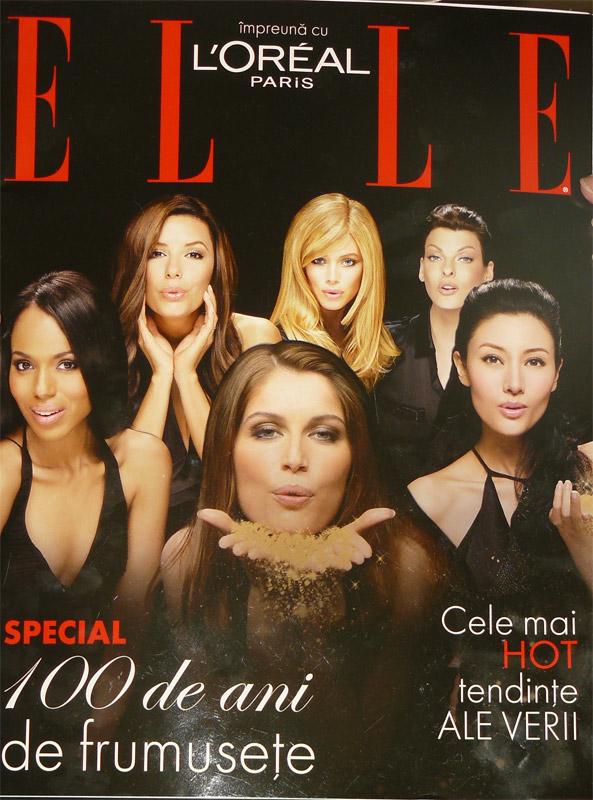 Suplimentul revistei Elle :: L\'Oreal Paris 100 de ani de frumusete :: August 2009