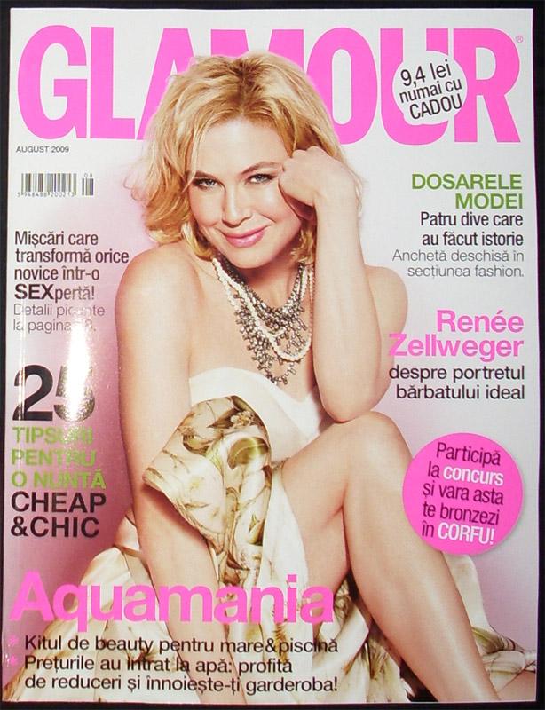 Glamour Romania :: Renée Zellweger :: August 2009