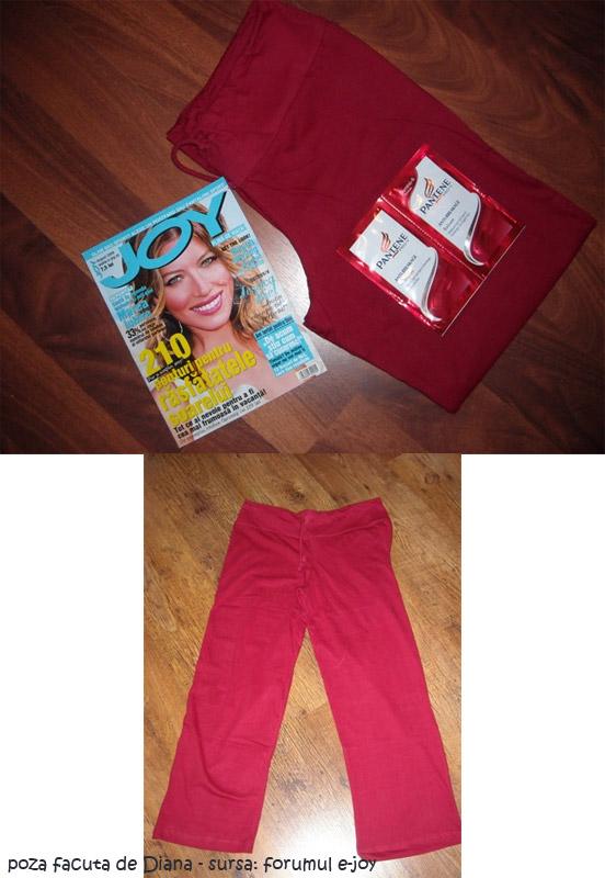Joy :: Pantaloni sport :: August 2009