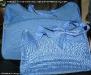 Set de genti albastre mini si maxi pentru voiaj, cadou la revista InStyle :: August 2009