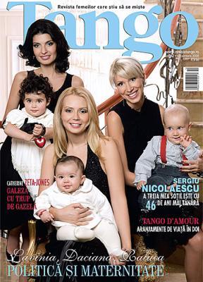 Coperta revistei Tango, Decembrie 2008