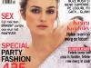Coperta revistei Glamour Romania, Decembrie 2008 (Coperta: Keira Knightley)