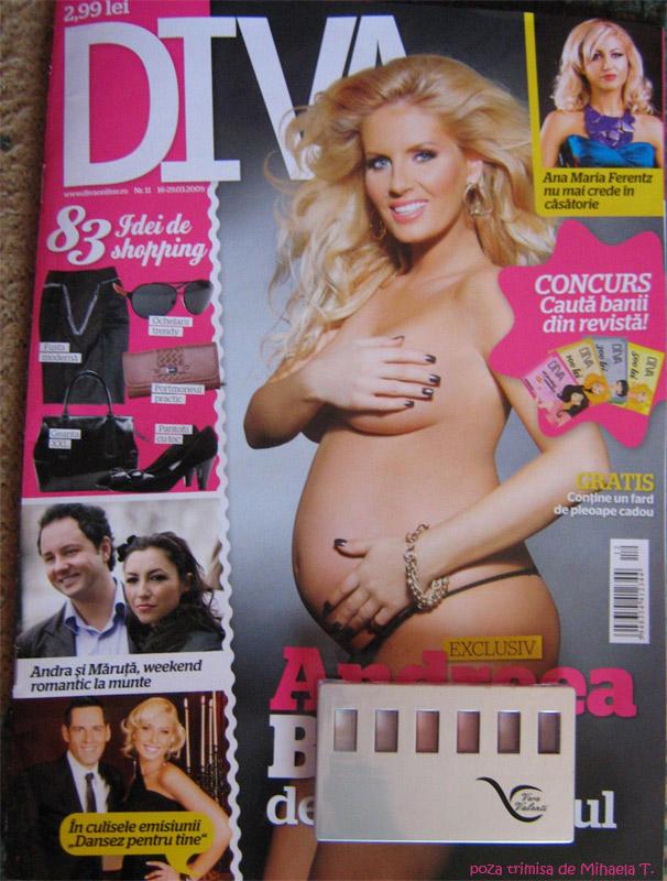 Diva :: Andreea Banica :: Cadou truse farduri de pleoape Vera Valentini :: Martie 2009