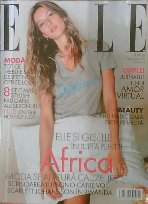 Elle Romania :: Gisele Bündchen :: Februarie 2009