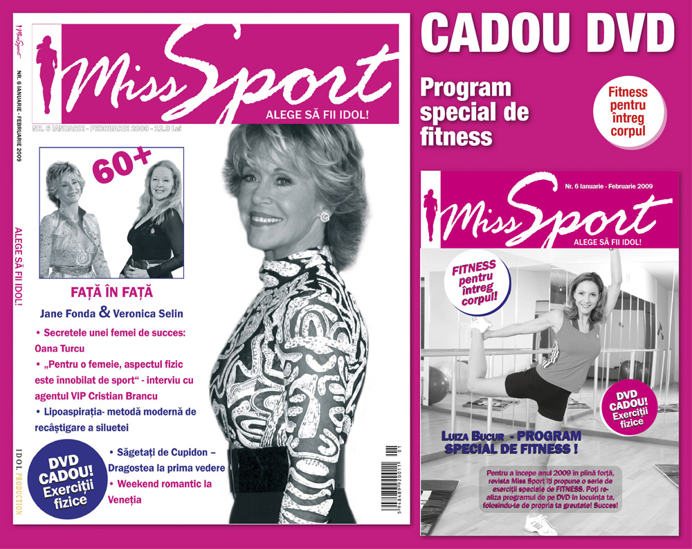 Miss Sport :: Jane Fonda :: Veronica Selin :: Ianuarie-Februarie 2009