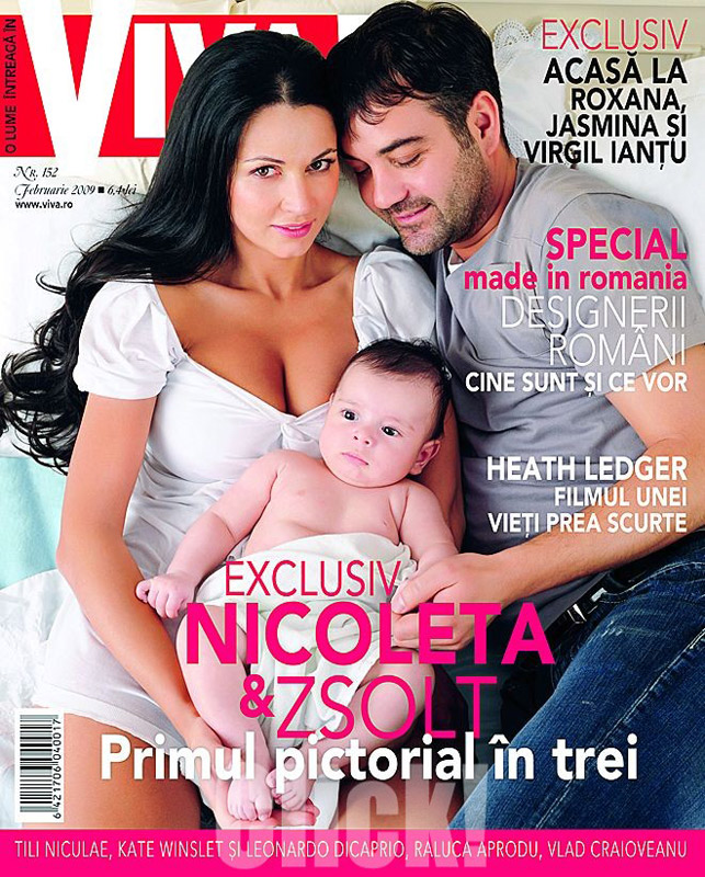 Viva! Romania :: Nicoleta Luciu & Zsolt Csergo & Zsolt Jr :: Februarie 2009