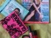 Glamour Romania :: Februarie 2009 :: Nicole Kidman :: Kit MakeUp Glamour Queen & Agenda