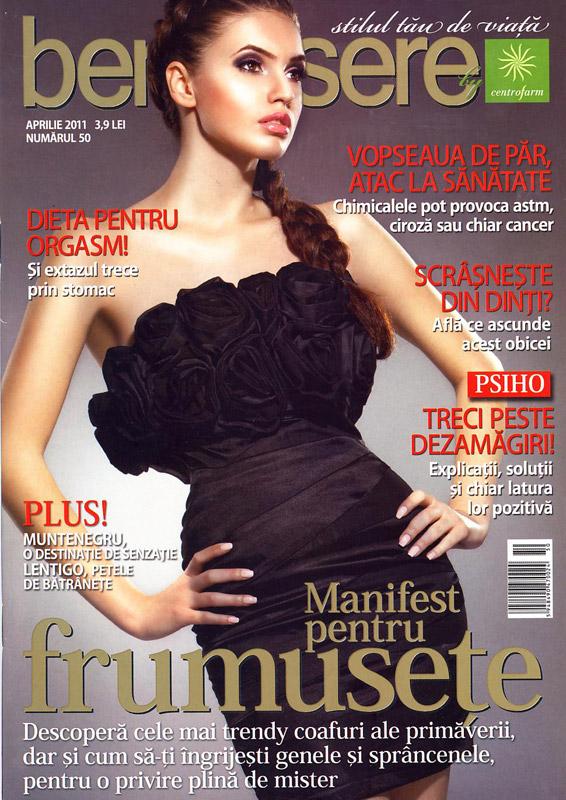 Revista gratuita Benessere, pentru farmaciile Centrofarm ~~ Martie 2011