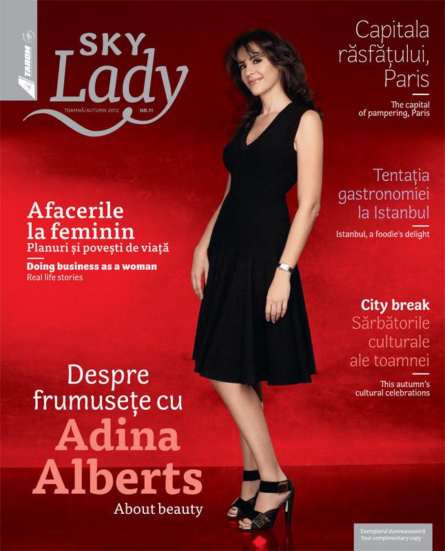 Tarom Sky Lady ~~ revista trimestriala gratuita ce se gaseste la bordul aeronavelor Tarom ~~ Toamna 2012