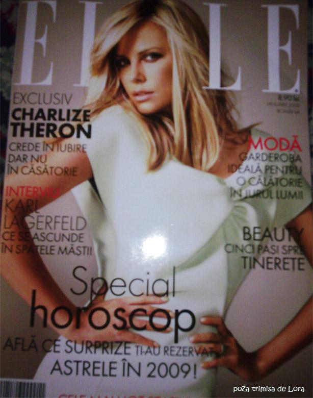 Elle Romania :: Ianuarie 2009 :: Charlize Thero