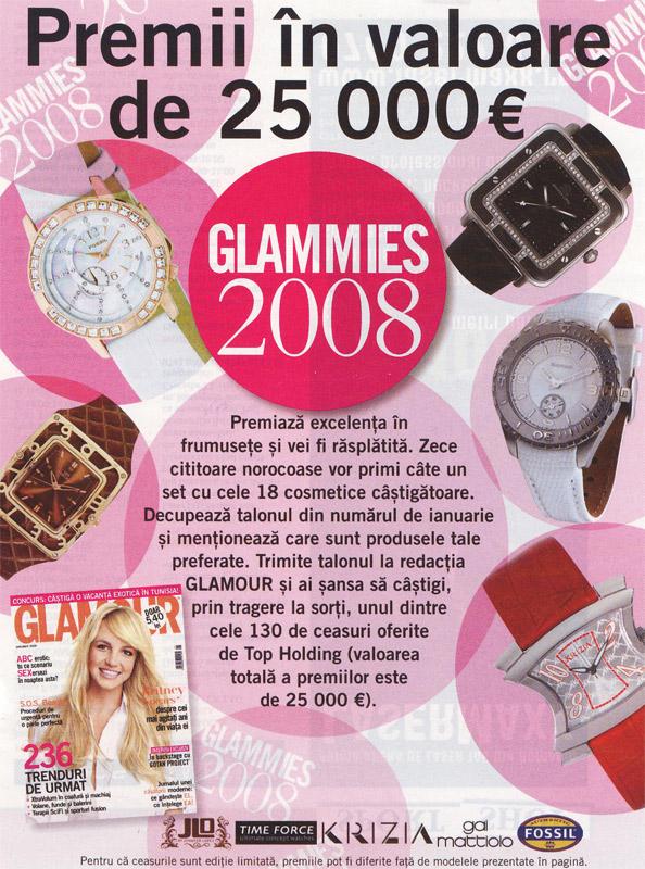 Glamour Romania :: Ianuarie 2009 :: Britney Spears