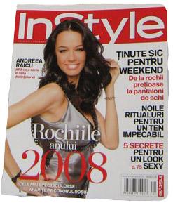 InStyle Romania :: Ianuarie 2009 :: Andreea Raicu