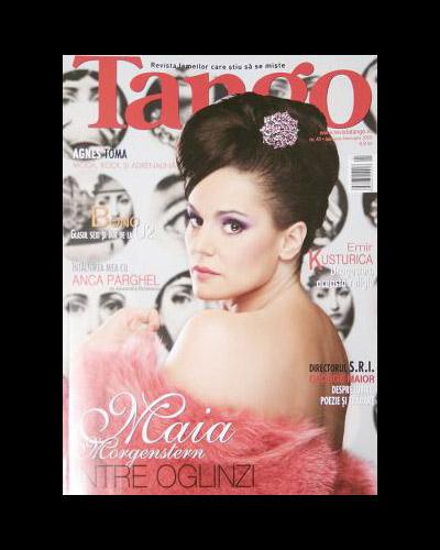 Tango :: Ianuarie 2009 :: Maia Morgenstern